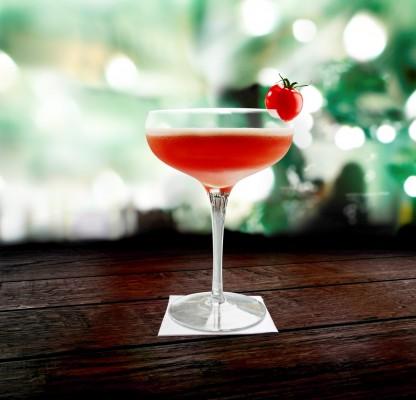 Cherry Tomatini Cocktail