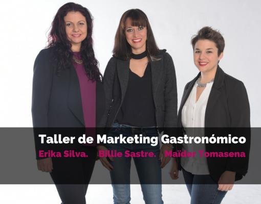 Taller de Marketing Gastronómico