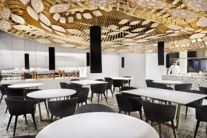 Interior de Noor Restaurante