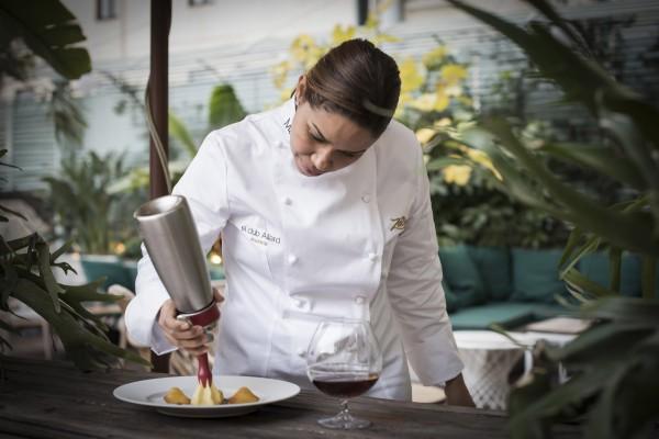 María Marte, 2 estrellas Michelin, será la encargada de la oferta gastronómica