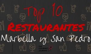 10 restaurantes en Marbella y San Pedro de Alcántara