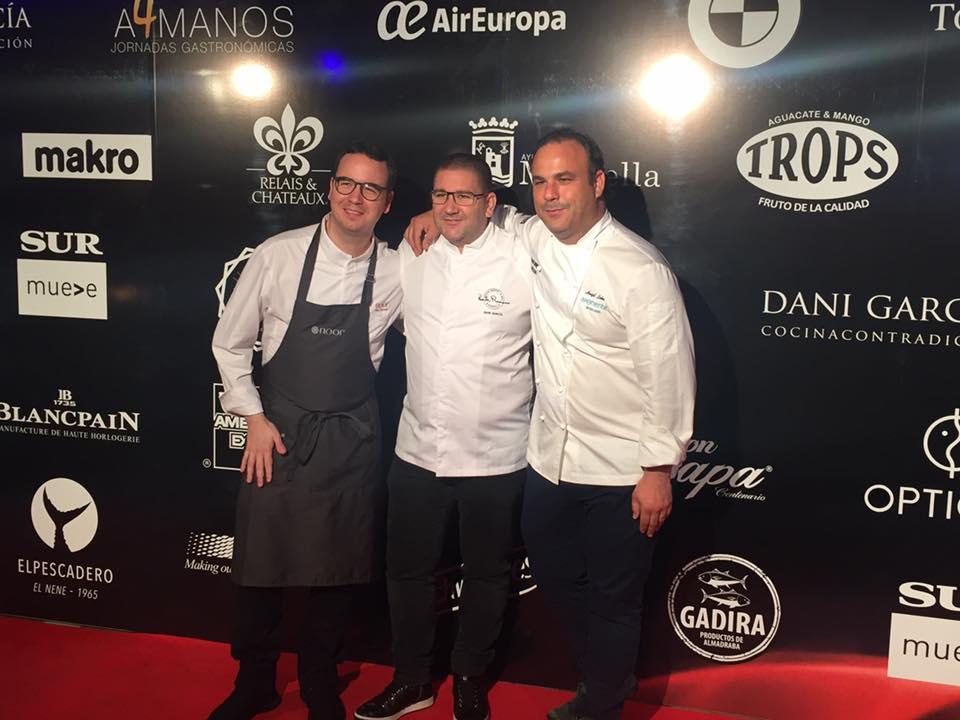 Paco Morales, Dani García y Ángel León