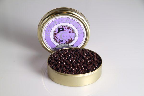 Caviar de chocolate
