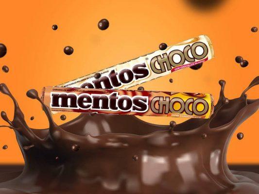 Mentos de chocolate