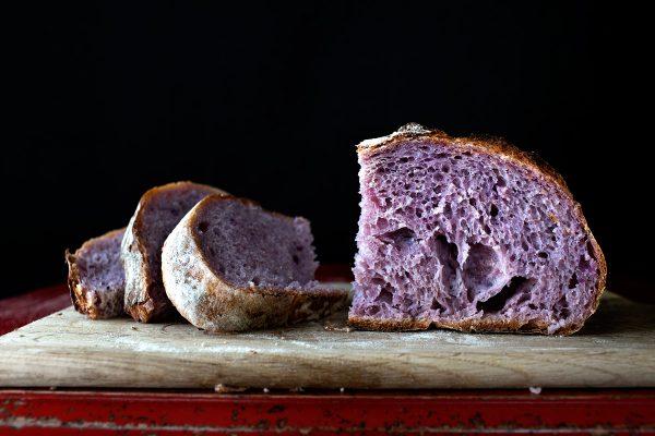 Pan púrpura, el próximo superalimento