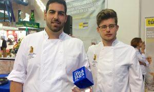Francisco Lara Moyano y Carlos Martín Marcos ganan el III Concurso Joven Chef 'Sabor a Málaga'