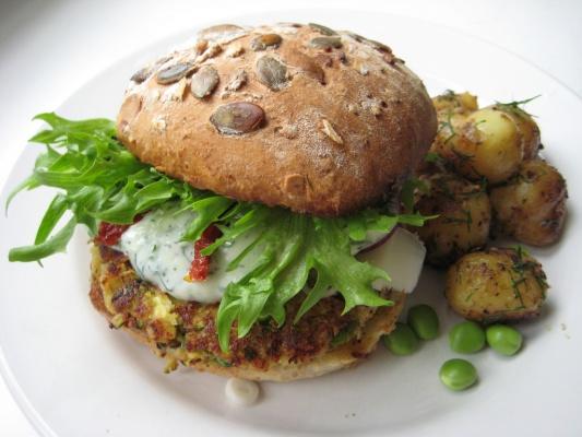 Las hamburguesas se modernizan con ingredientes más naturales