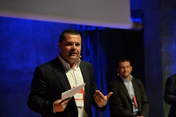 Óscar Carrión en la pasada edición de Barra de Ideas