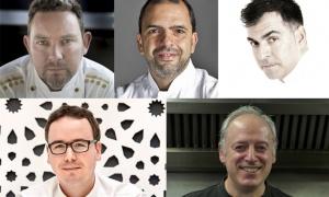 Candidatos al Premio Nacional de Gastronomía: Mejor Jefe de Cocina 2016