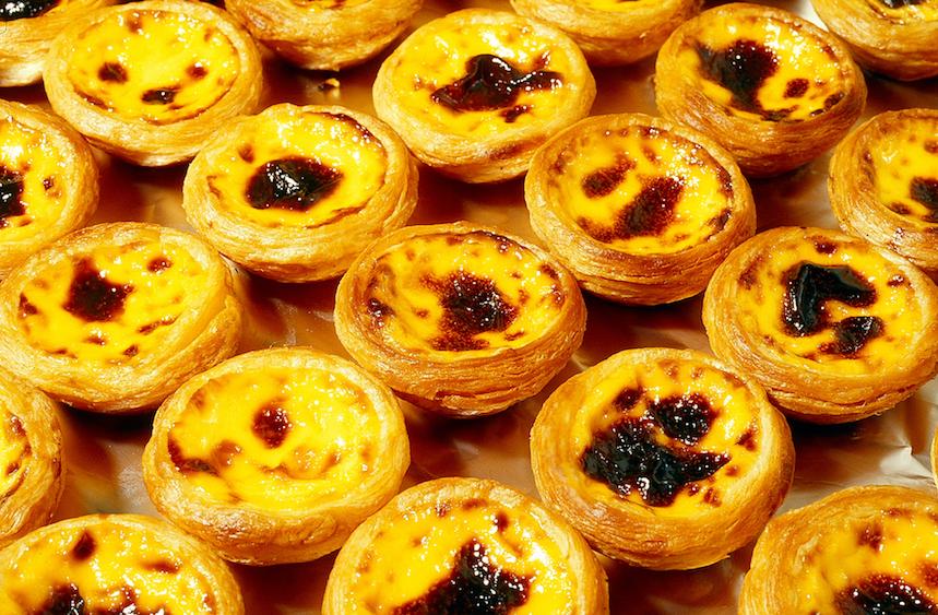 Los Pastéis de nata son similares a los Pastéis de Belém de la ciudad de Lisboa