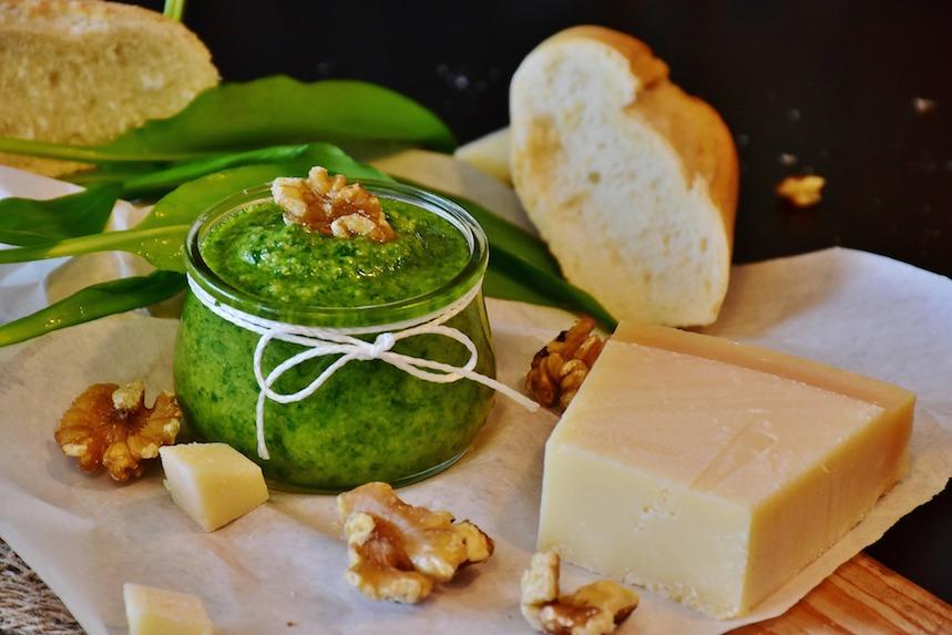 Pesto de albahaca. Foto: Pixabay