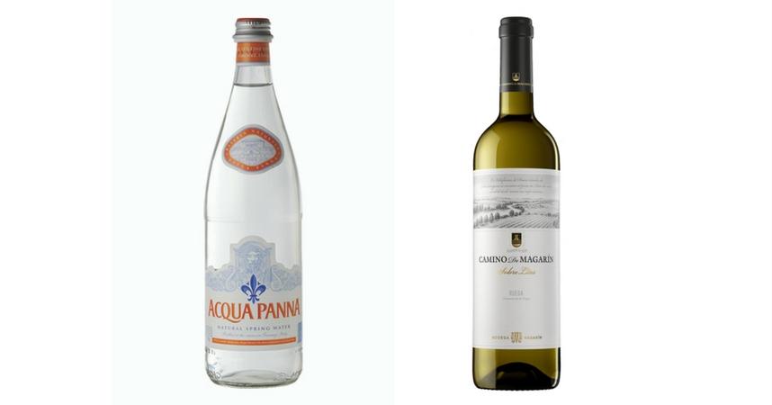 Acqua Panna y Camino de Magarín