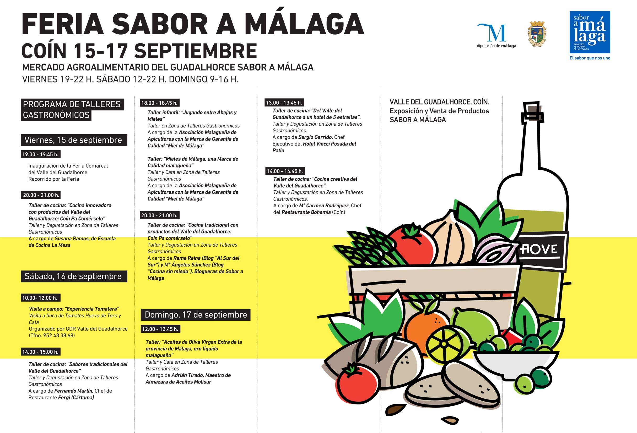 Feria sabor a m laga co n 2017 the gourmet journal for Feria outlet malaga 2017