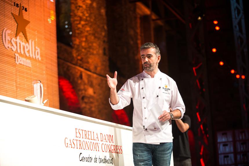 Alexander Silva, Restaurante Loco, durante su ponencia