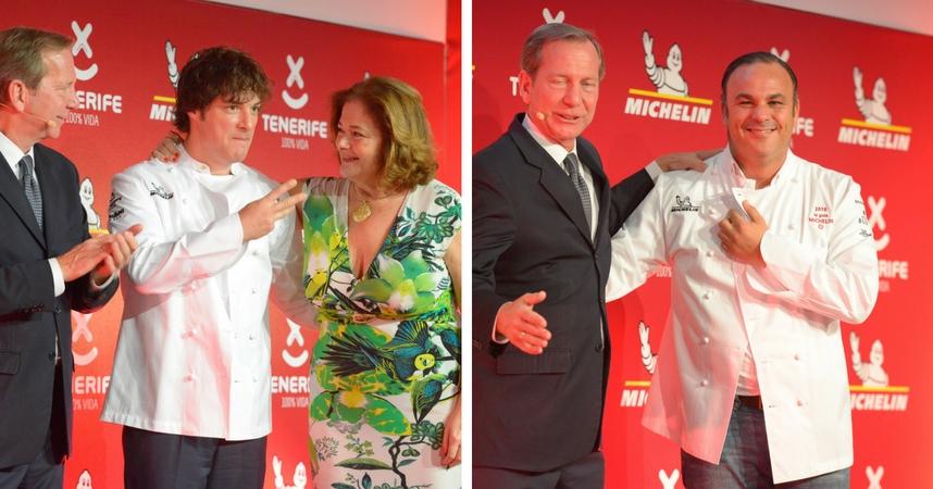 ABaC y Aponiente en manos de Jordi Cruz y Ángel León, respectivamente, se alzan con tres estrellas.
