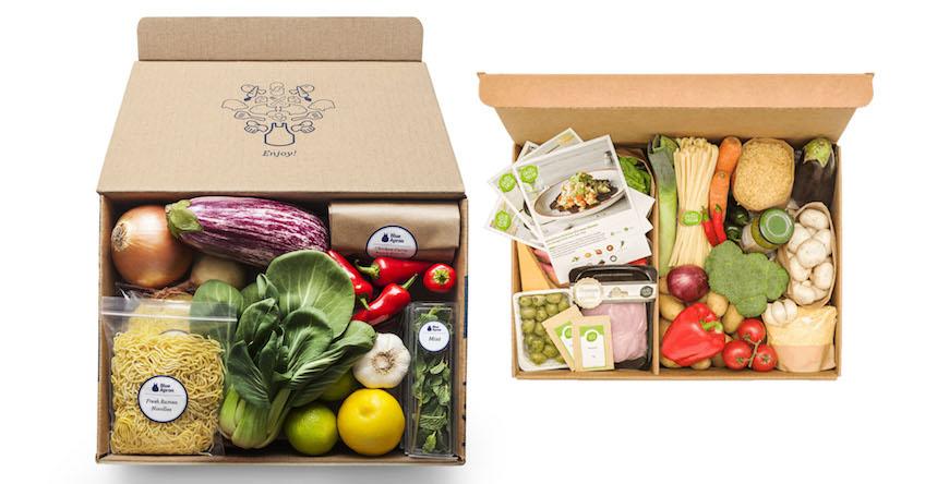 Kits para preparar comidas en casa