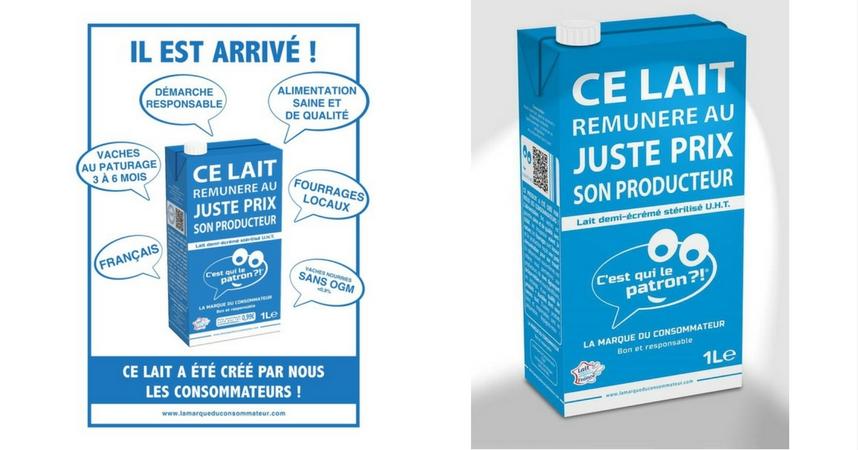 C´est qui le patron?!, leche francesa que reconoce y paga el trabajo del ganadero