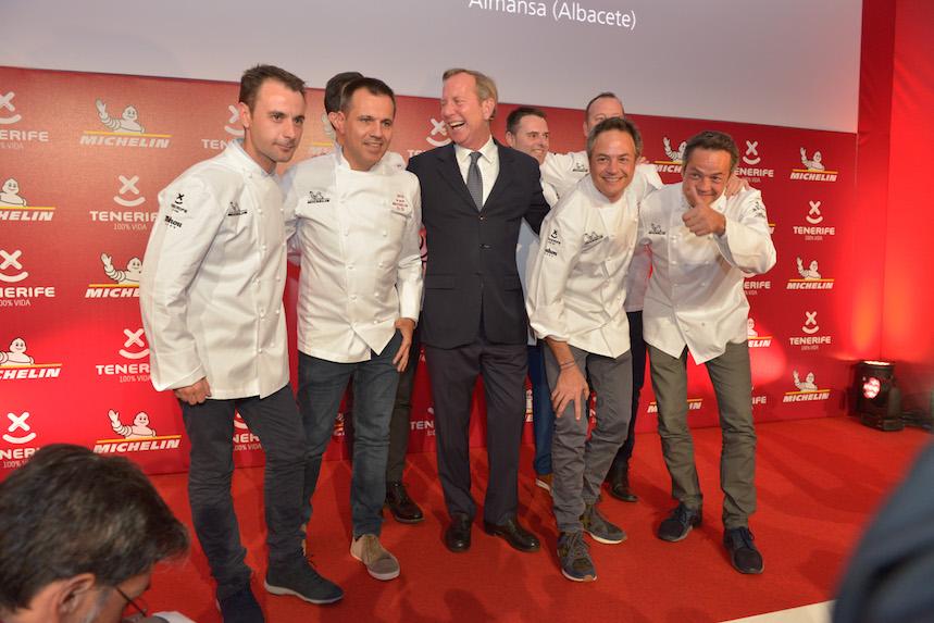 Los chefs de los restaurantes con 2 estrellas Michelin