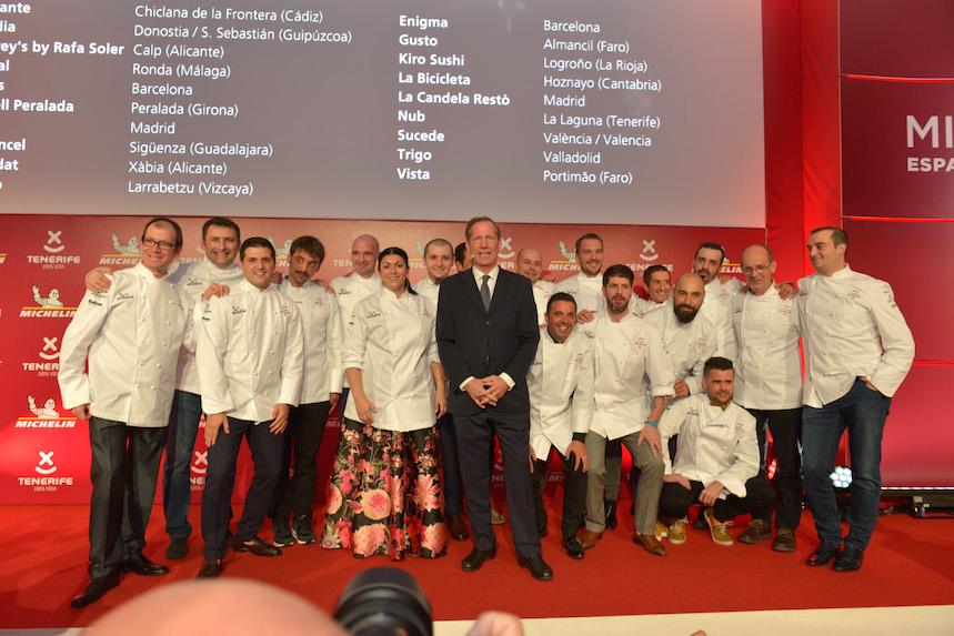 Los nuevos cocineros con 1 estrella Michelin