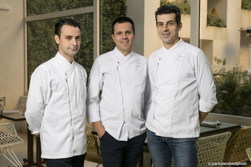 Eduard Xatruch, Oriol Castro y Mateu Casañas - Foto: Joan Valera
