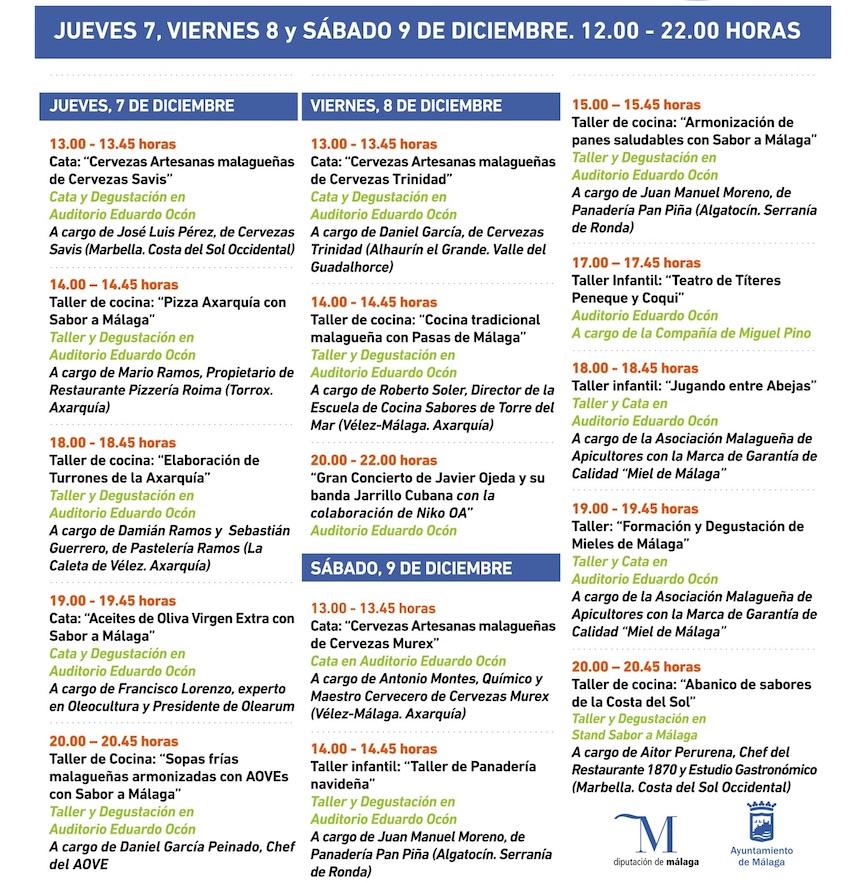 Gran Feria Sabor a Málaga 2017