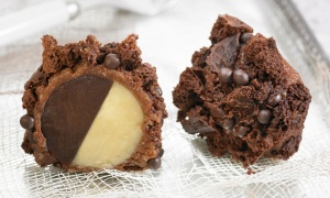 Panellet gigante de chocolate de Carme Ruscalleda