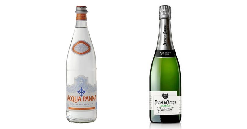 Acqua Panna y Juve & Camps Essential