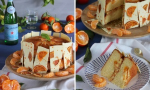 Tangerines and White Chocolate Cake