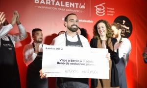 Alberto Meléndez, mejor camarero de 2017