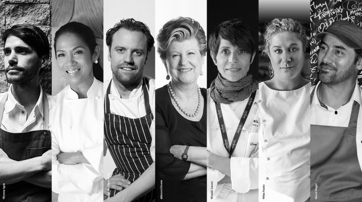 Siete grandes cocineros componen el jurado de S.Pellegrino Young Chef 2018