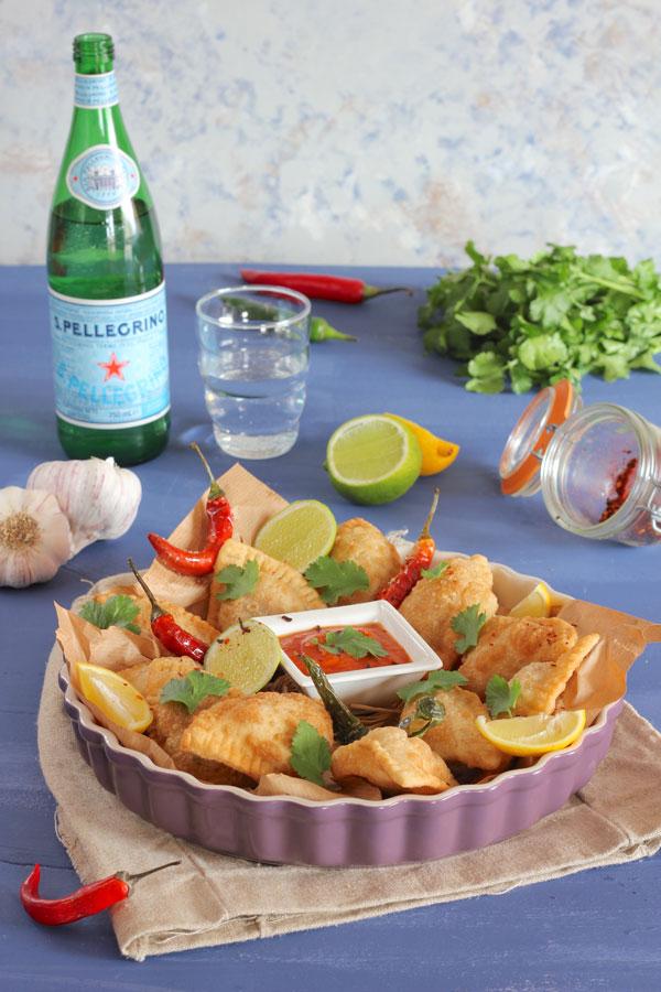 Samosas vegetales