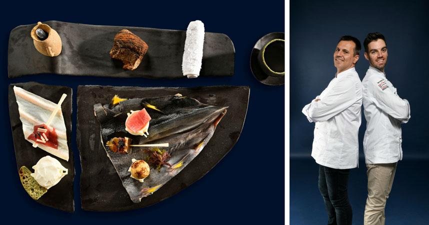 Andrés presentó un plato sostenible de atún rojo