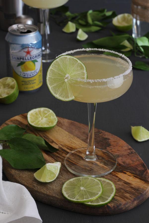 Margarita de Limón con Sanpellegrino Limonata