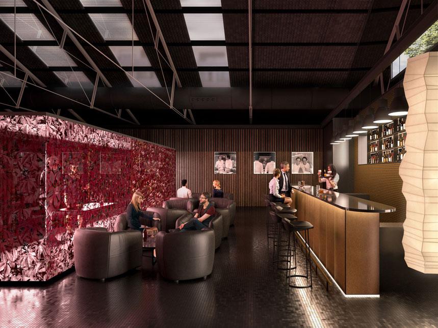 El espacio tendrá un bar y una zona de catas