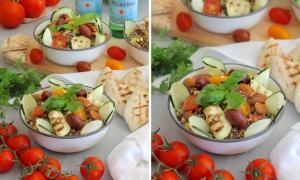 Ensalada Griega de Quinoa