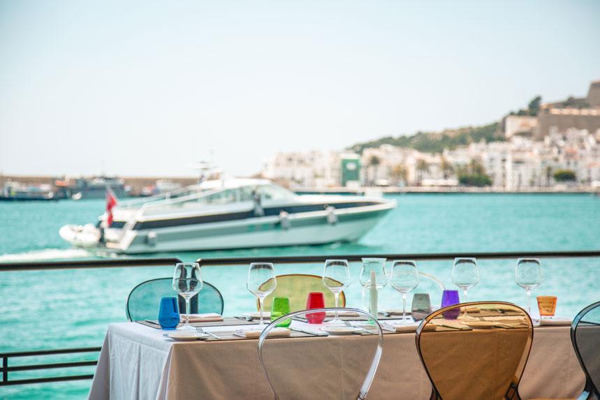 Vistas al Dalt Vila desde Lío Ibiza