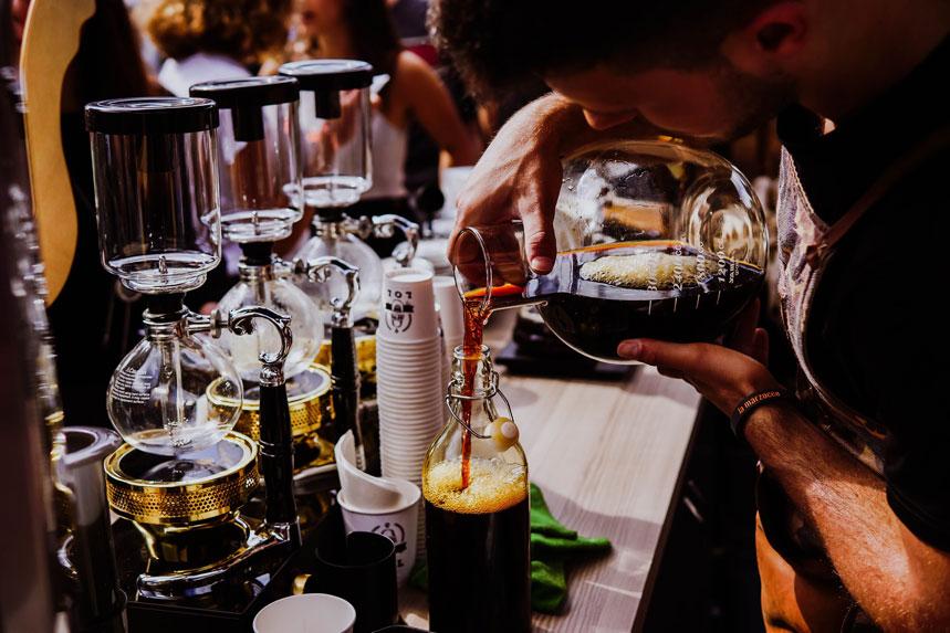 El café cold brew no está sometido a temperatura