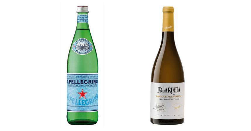 S.Pellegrino y Legardeta Chardonnay