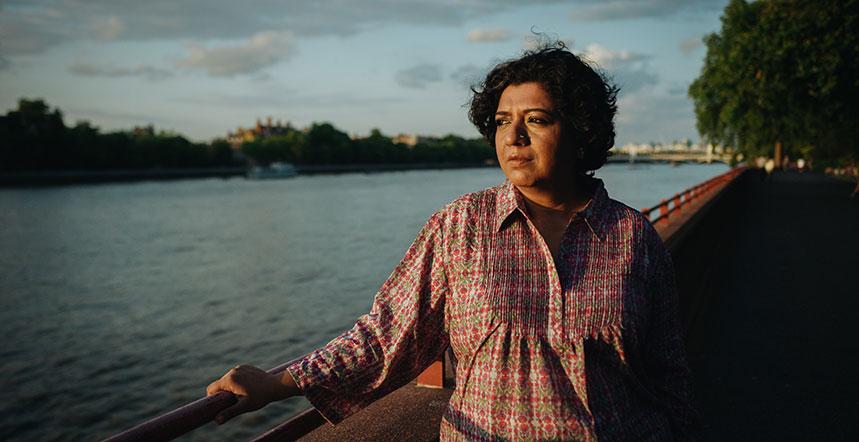 Asma Khan, propietaria de Darjeeling Express. Foto: Netflix