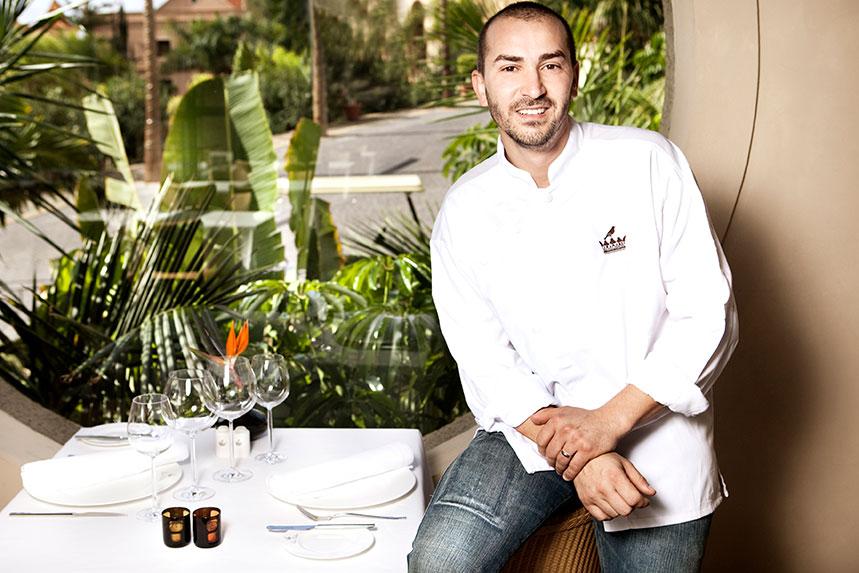 Braulio Simancas, jefe de cocina del hotel Las Aguas, impartirá un show-cooking en Culinaria