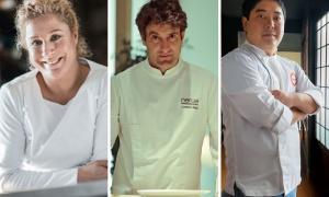 Josean Alija cocinará con Ana Ros y Mitsuharu Tsumura