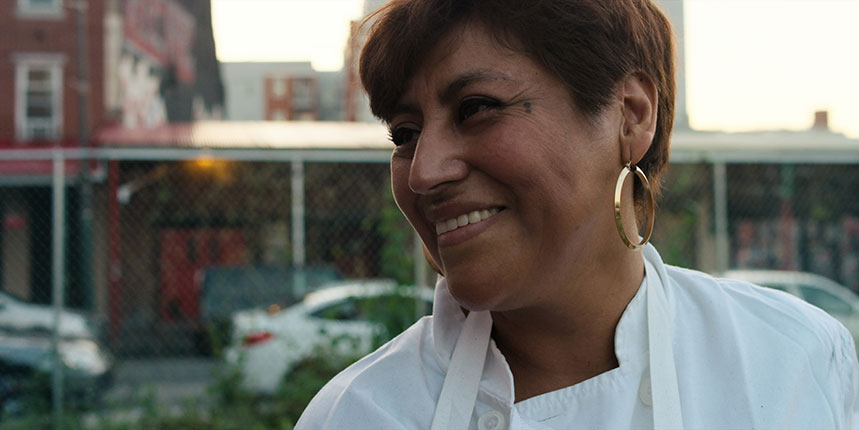 Cristina Martínez, Restaurante South Philly Barbacoa. Foto: Netflix