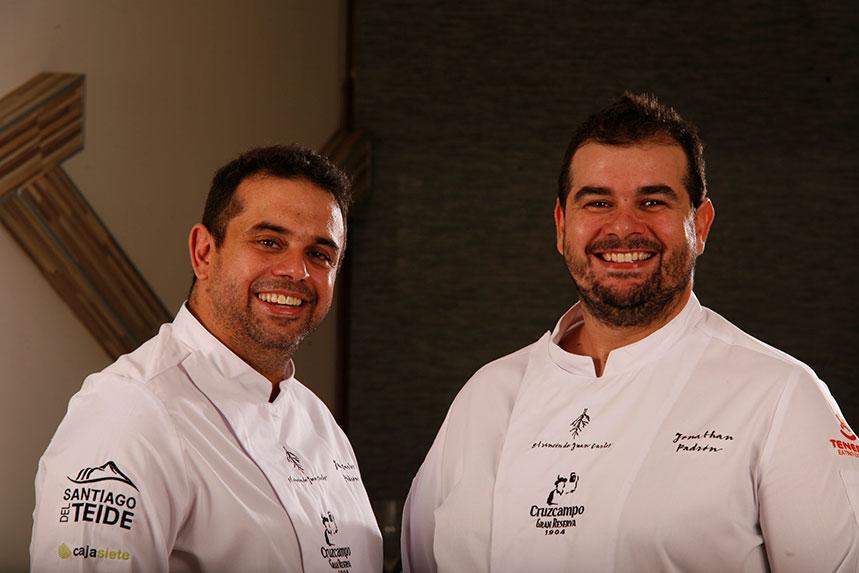 Juan Carlos y Jonathan Padrón (El Rincón de Juan Carlos) participarán en un show-cooking