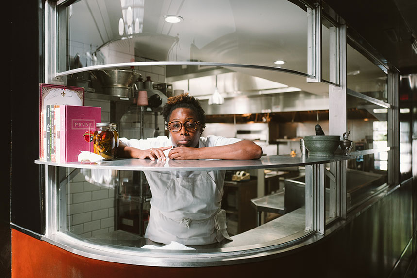 Mashama Bailey, chef de The Grey. Foto: Netflix