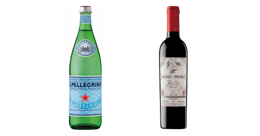 S.Pellegrino y Secret del Priorat