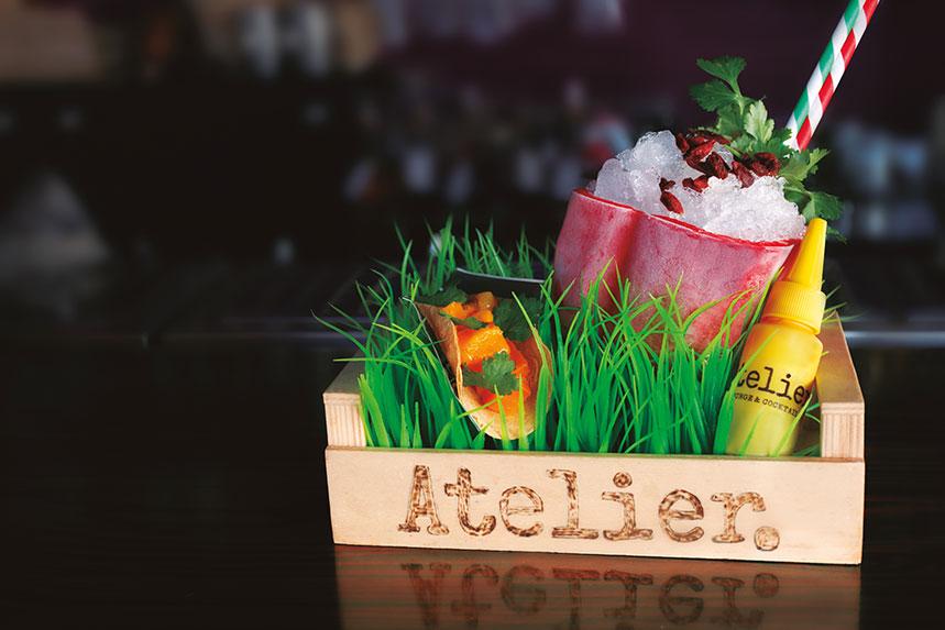 La coctelería juega un papel fundamental en Bohemia Suites & Spa