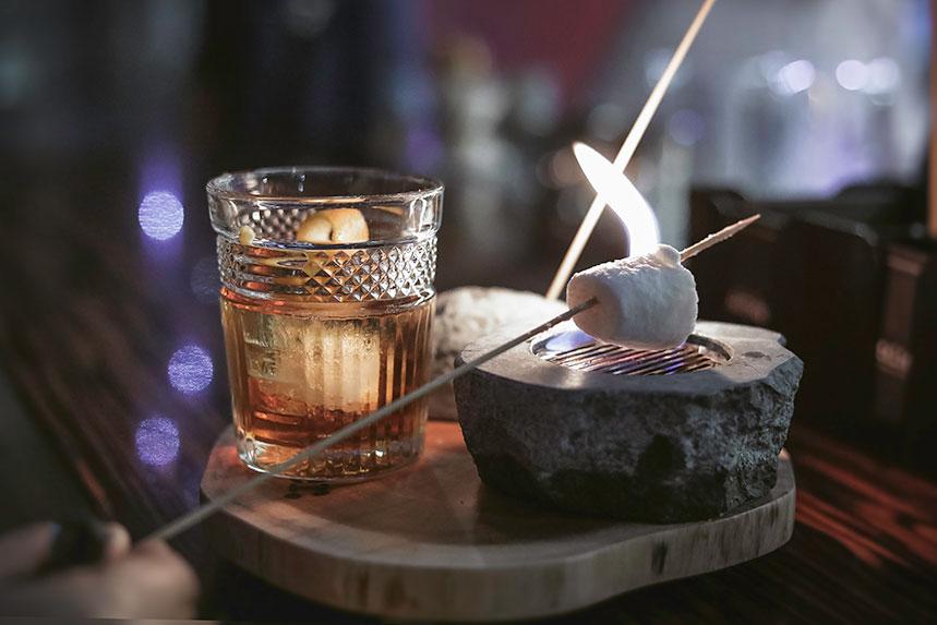 Yankee, uno de los cócteles que hay que probar en Atelier Cocktail Bar