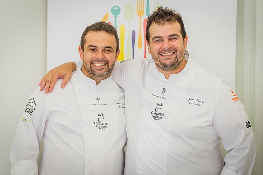 Los hermanos Padrón hablaron sobre las raíces de la cocina
