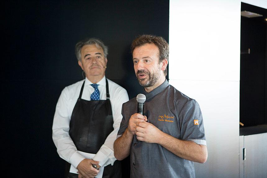 Juan Muñoz y Nacho Manzano