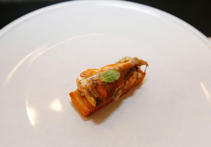 Lubinaca kimchi de Óscar Calleja